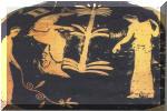 Οι Πλειάδες, ερυθρόμορφη υδρία του 5ου π.Χ αιώνα, Εθνικό Αρχαιολογικό μουσείο Αθηνών